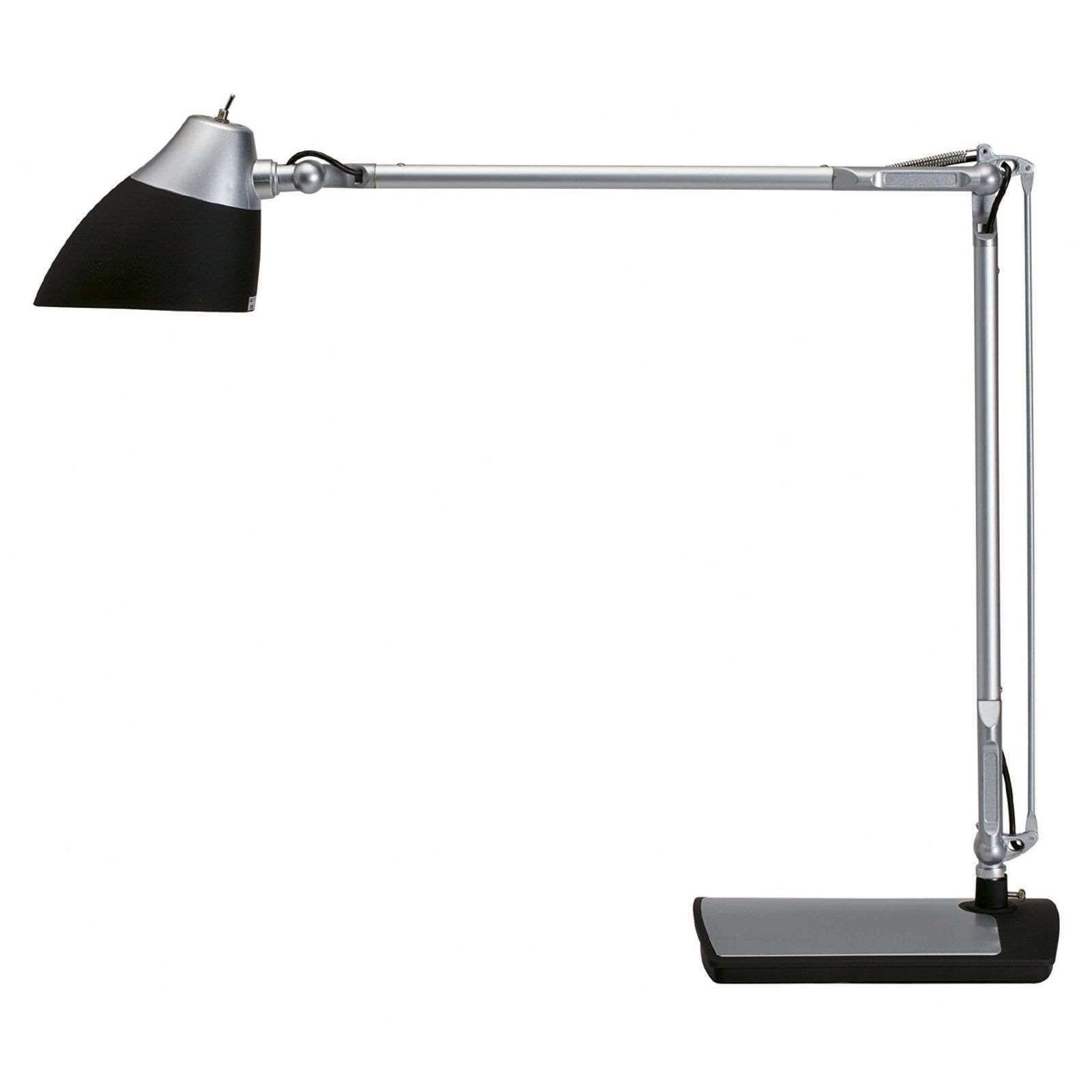 ECLIPSE LED-bureaulamp, zwart