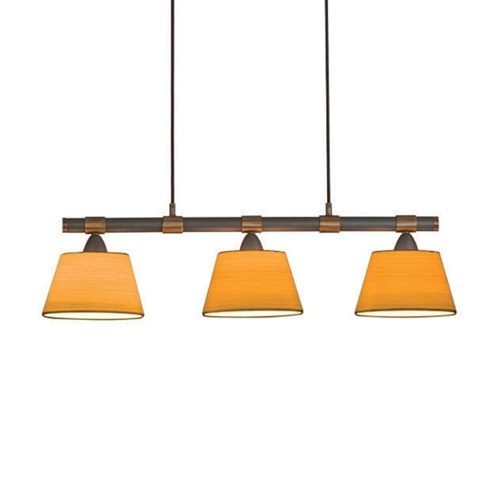 3-lichts hanglamp LIVING TABLE