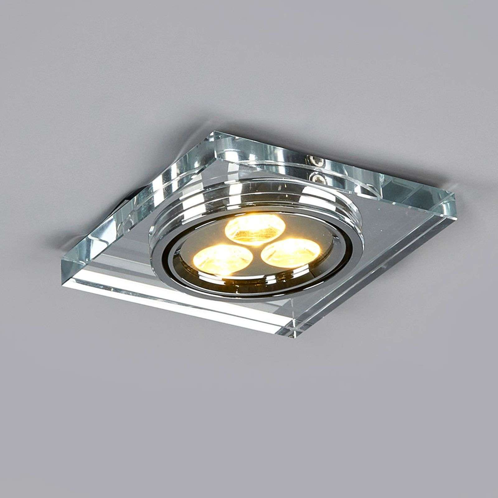 Maria - LED-downlight, 200 lumen, vierkant