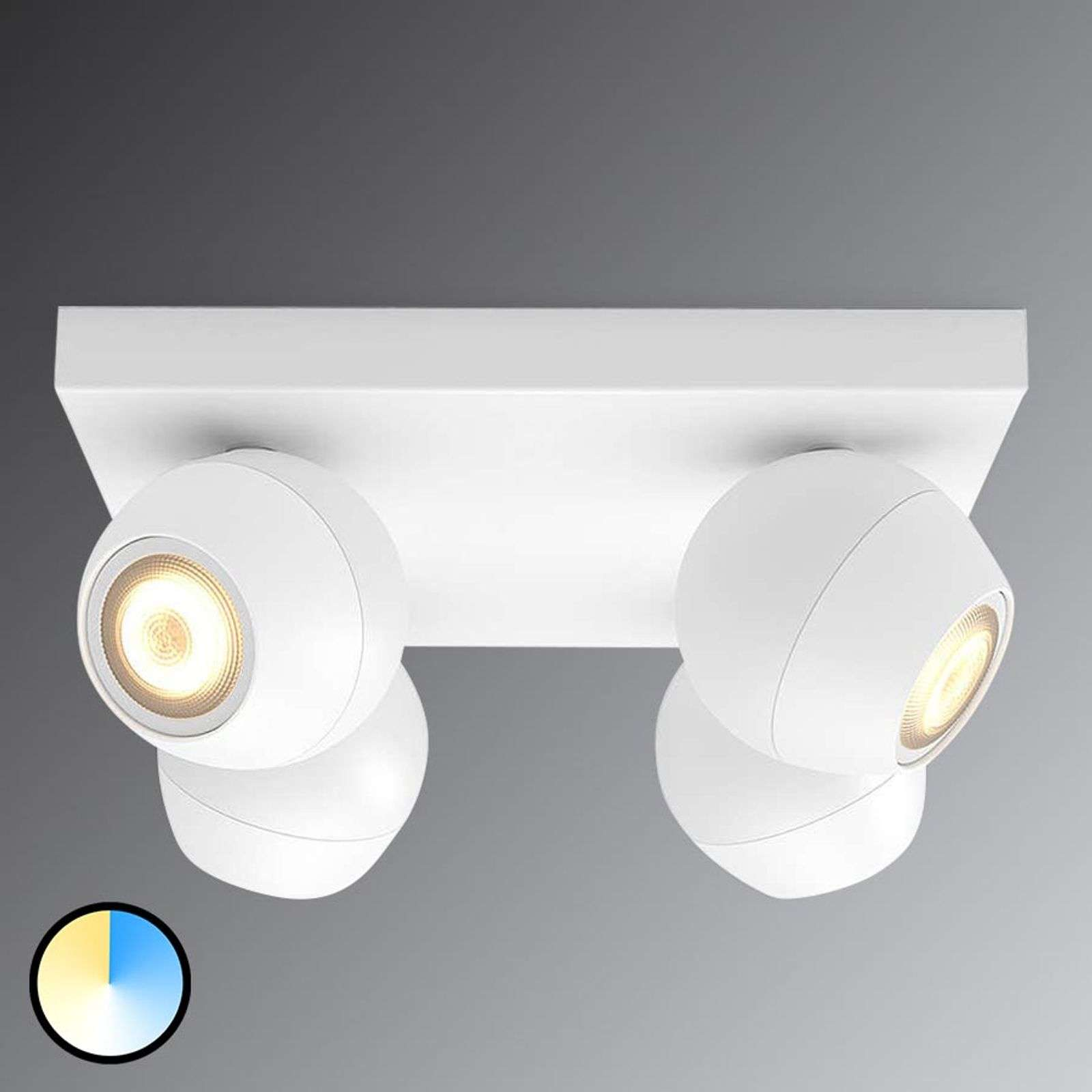 Philips Hue Buckram White Ambience LED spot wit