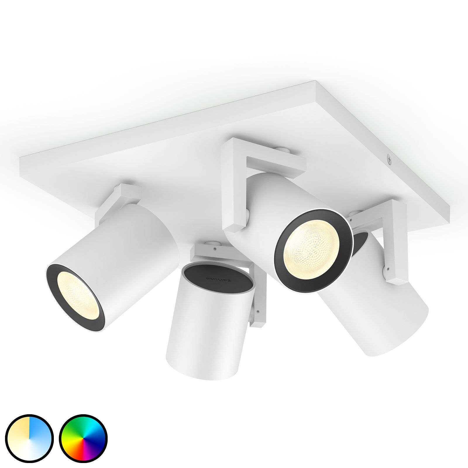 Philips Hue Argenta LED spot wit 4-lamps