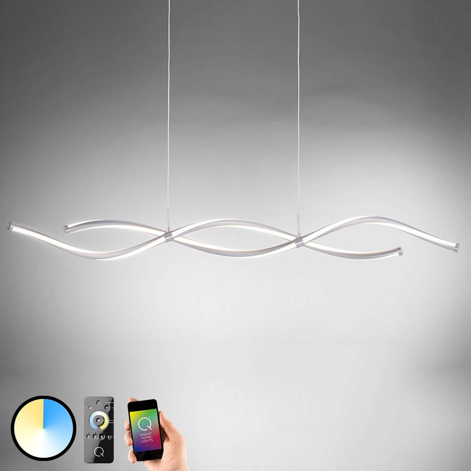 Paul Neuhaus Q-MALINA LED hanglamp Smart Home