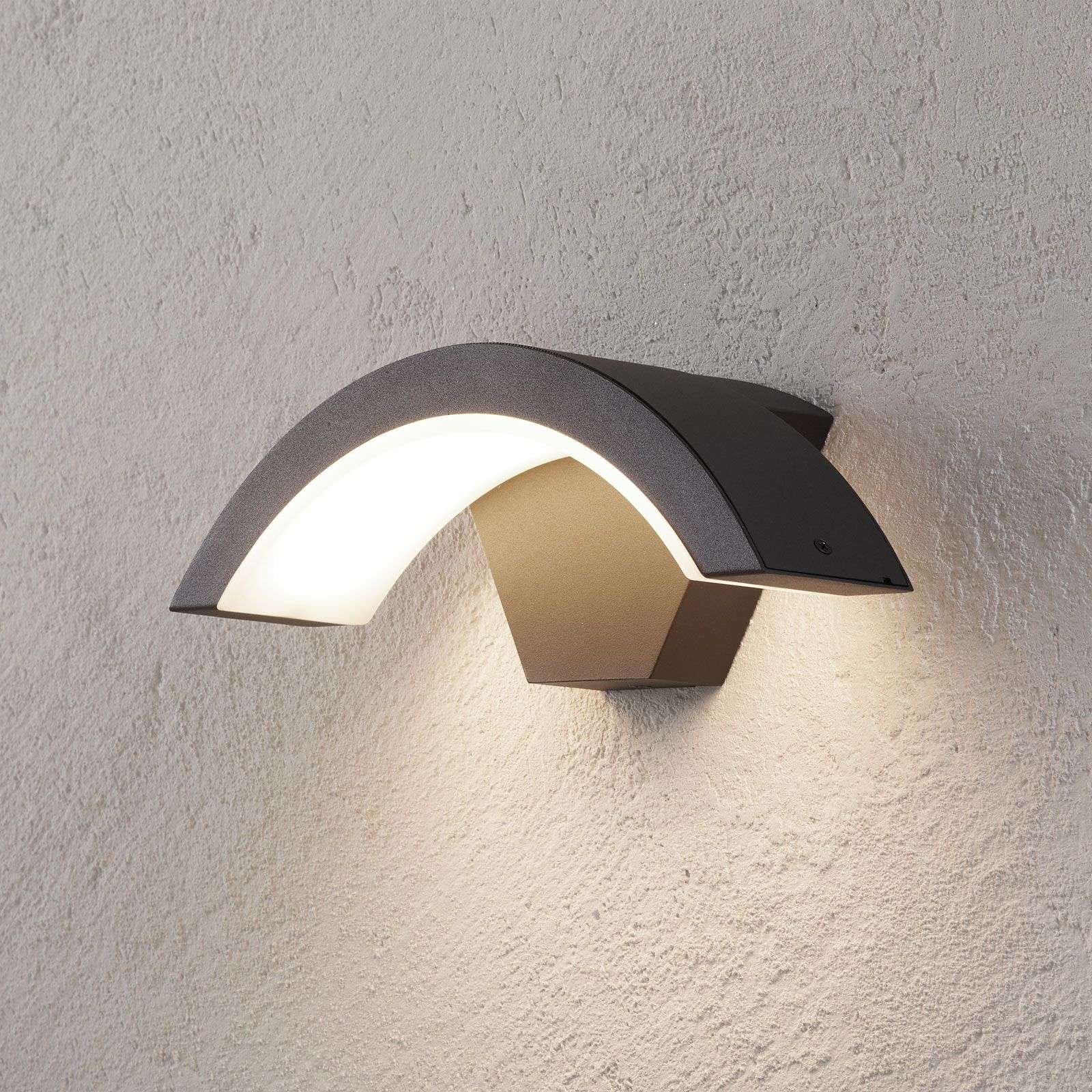 Ohio - outdoor wandlamp LED antraciet