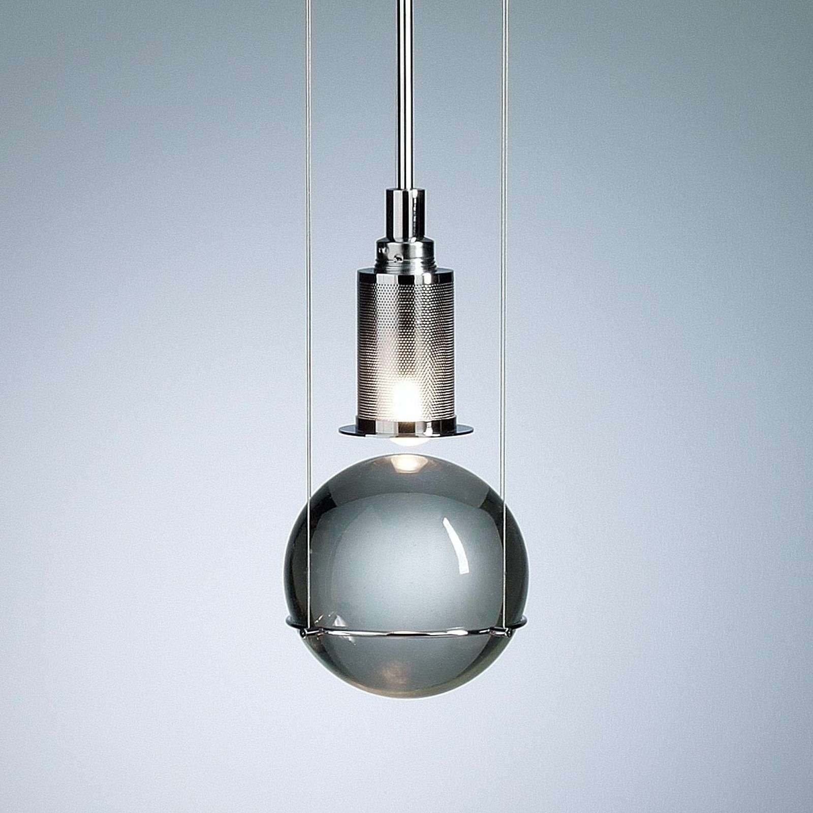 Design-hanglamp LE TRE STREGHE, messing