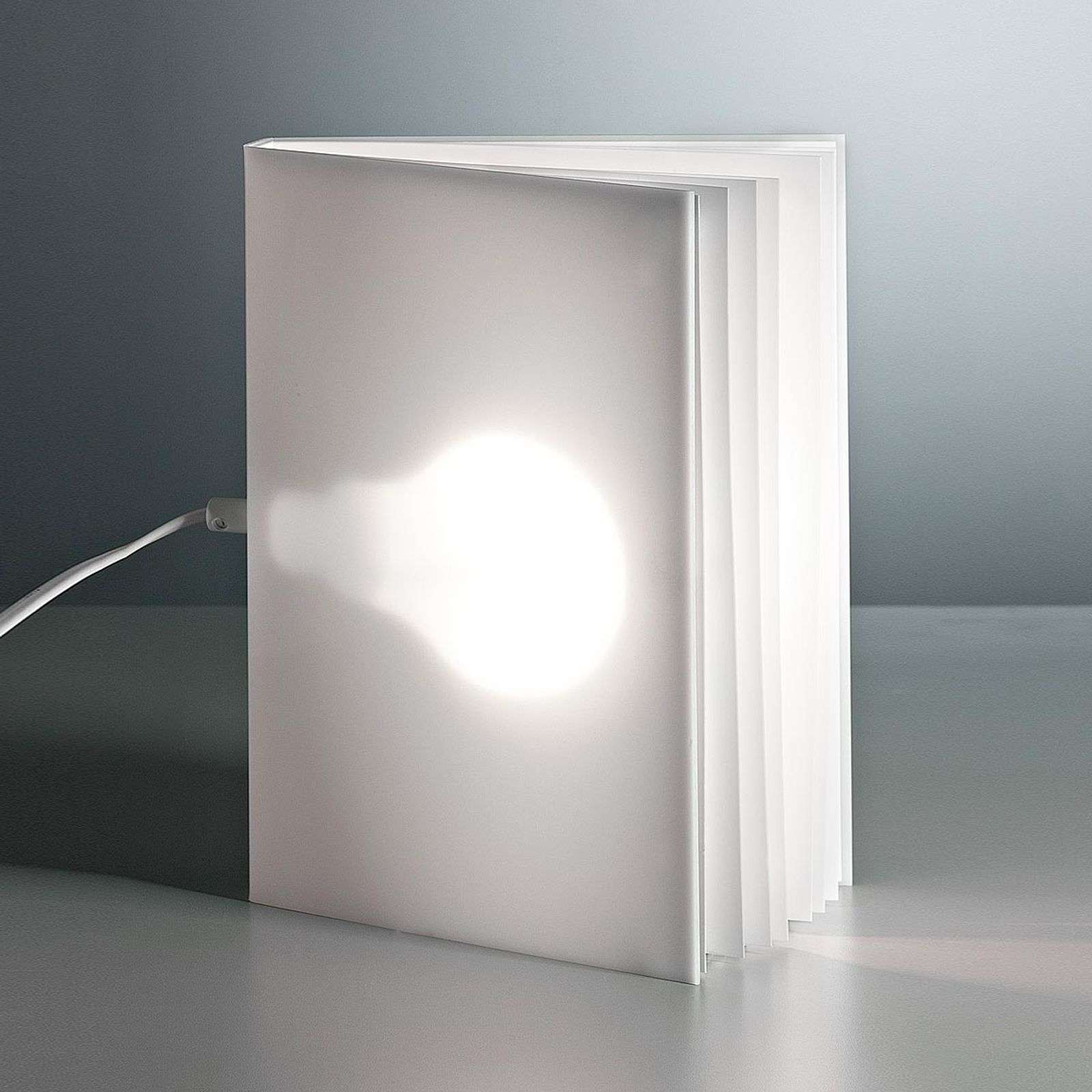 TECNOLUMEN BookLight tafellamp van Vincenz Warnke
