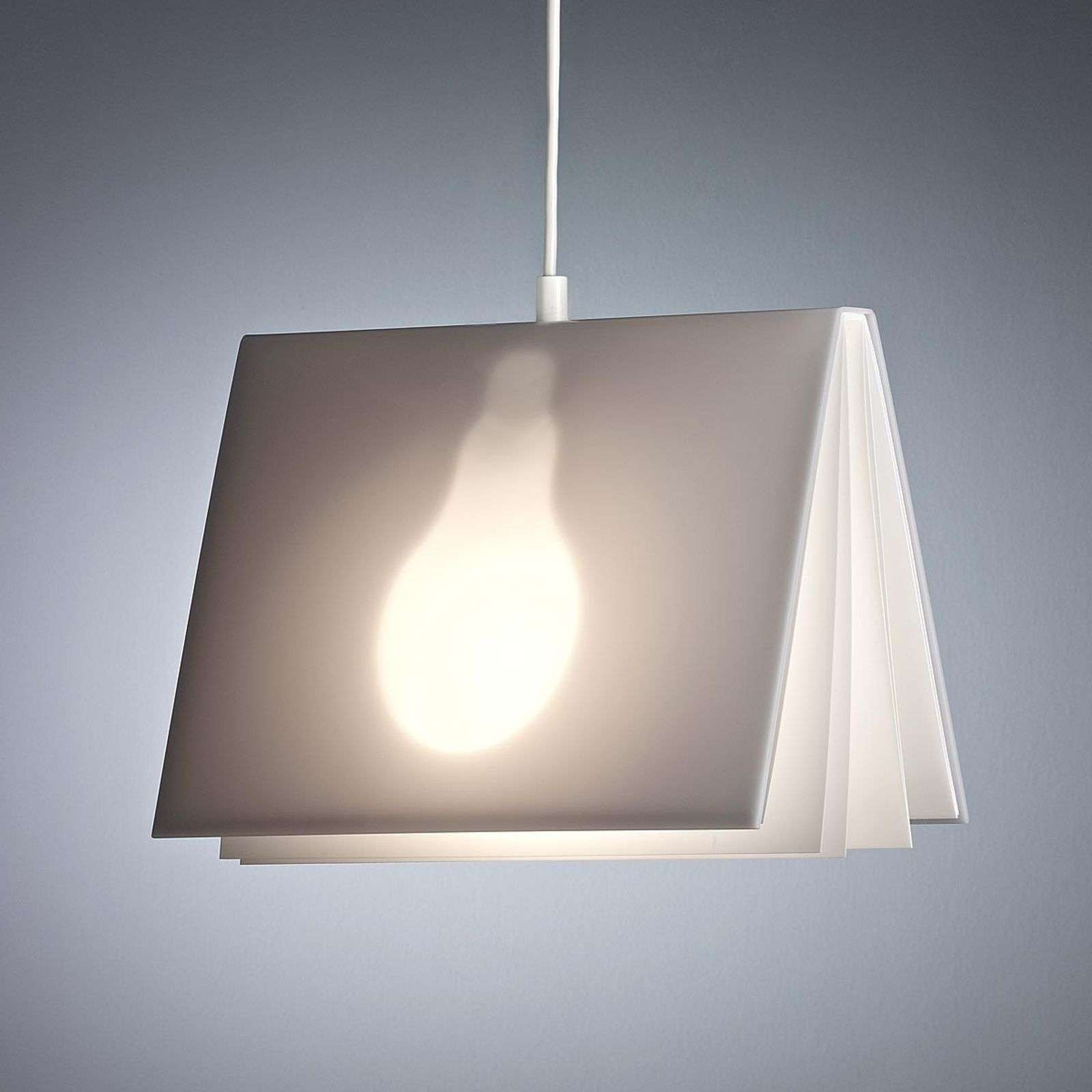 Pendellamp Booklight van Vincenz Warnke