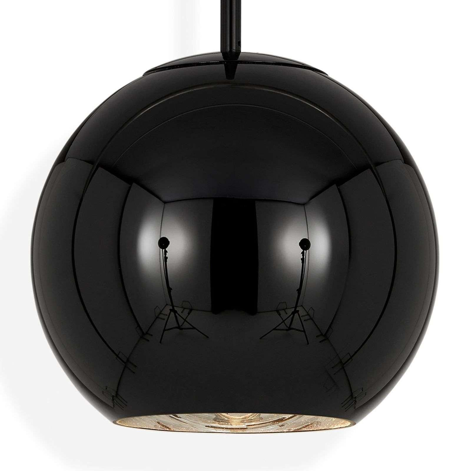 Tom Dixon Copper Round 25 - hanglamp zwart