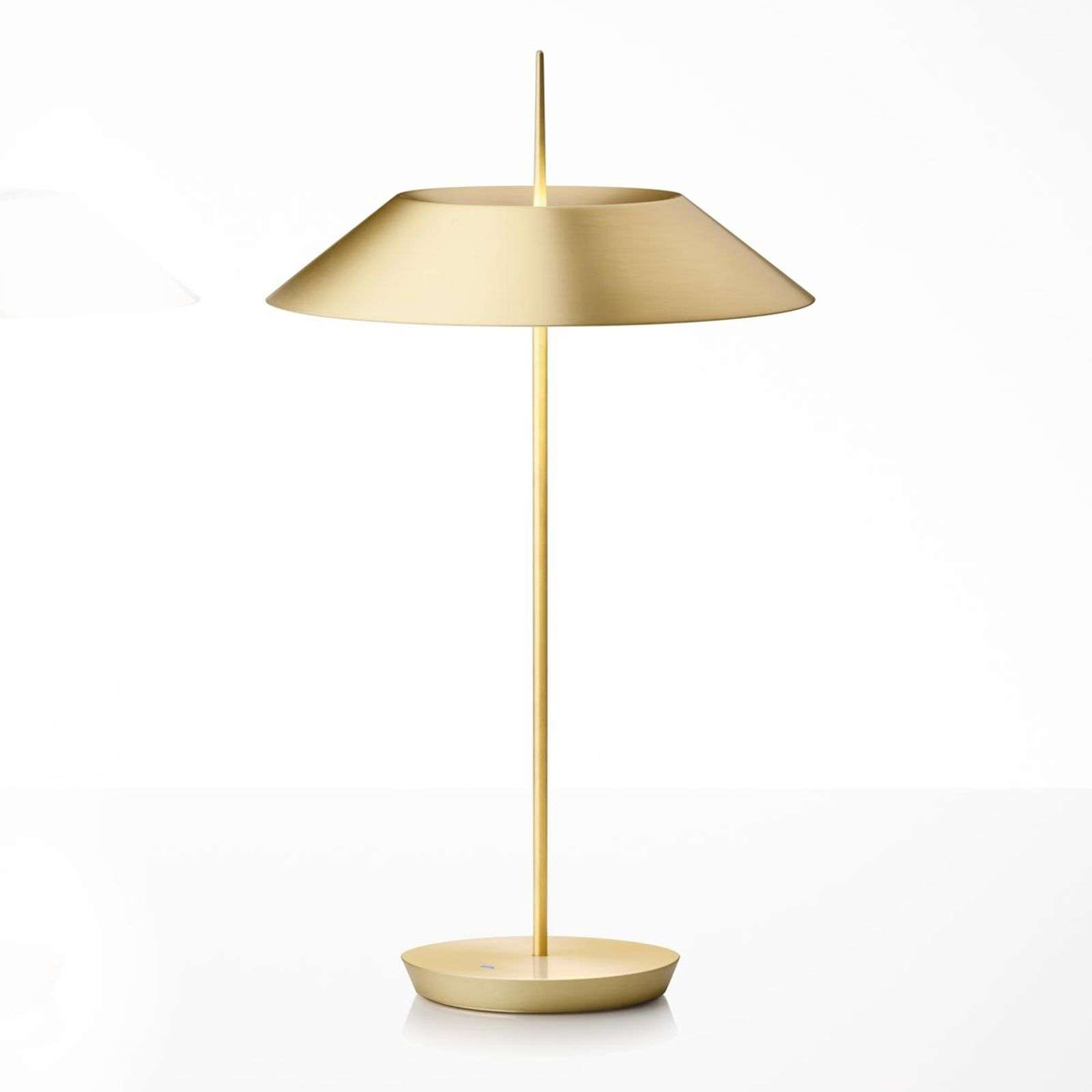 Vibia Mayfair LED tafellamp, mat goud