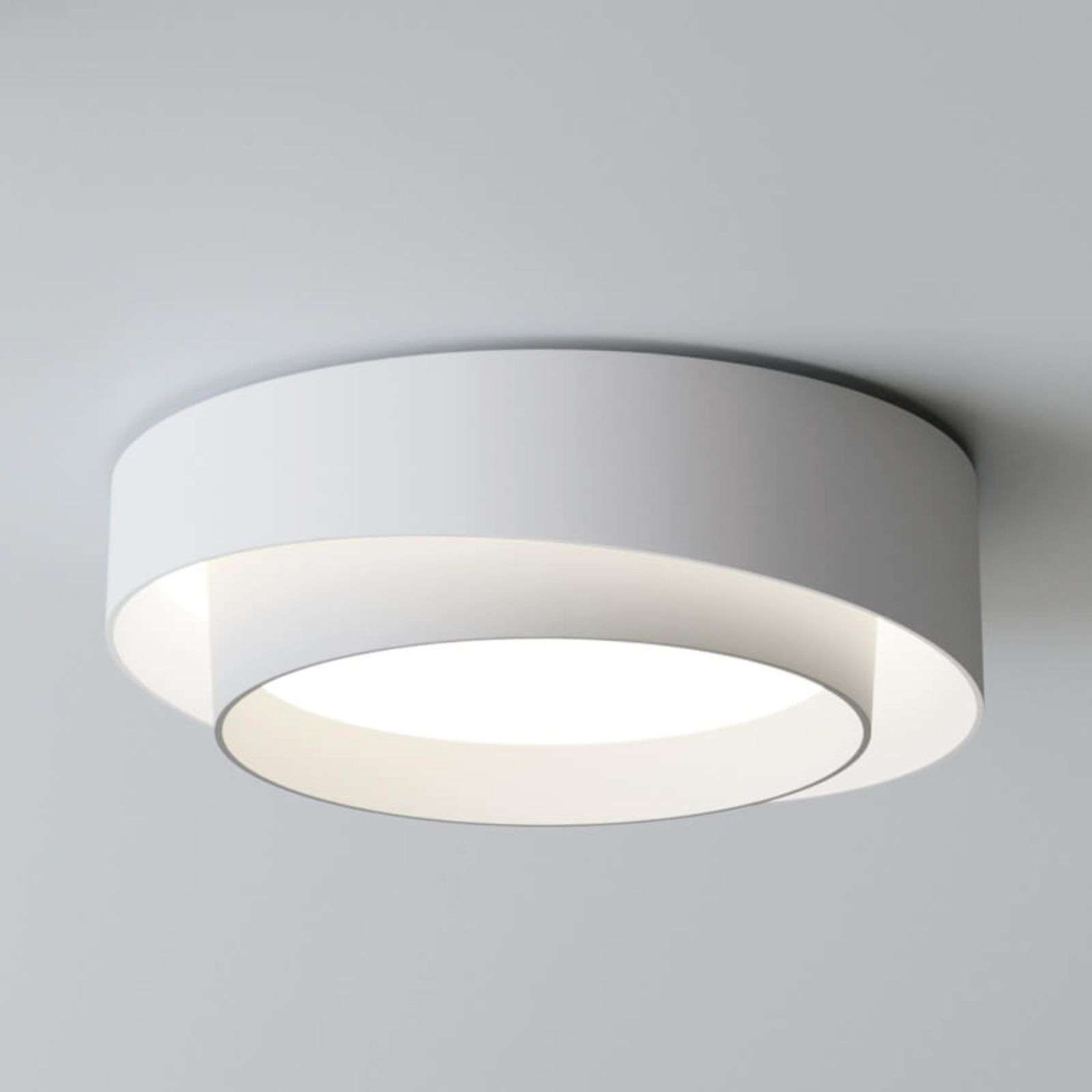 Witte led ontwerp plafondlamp Centric