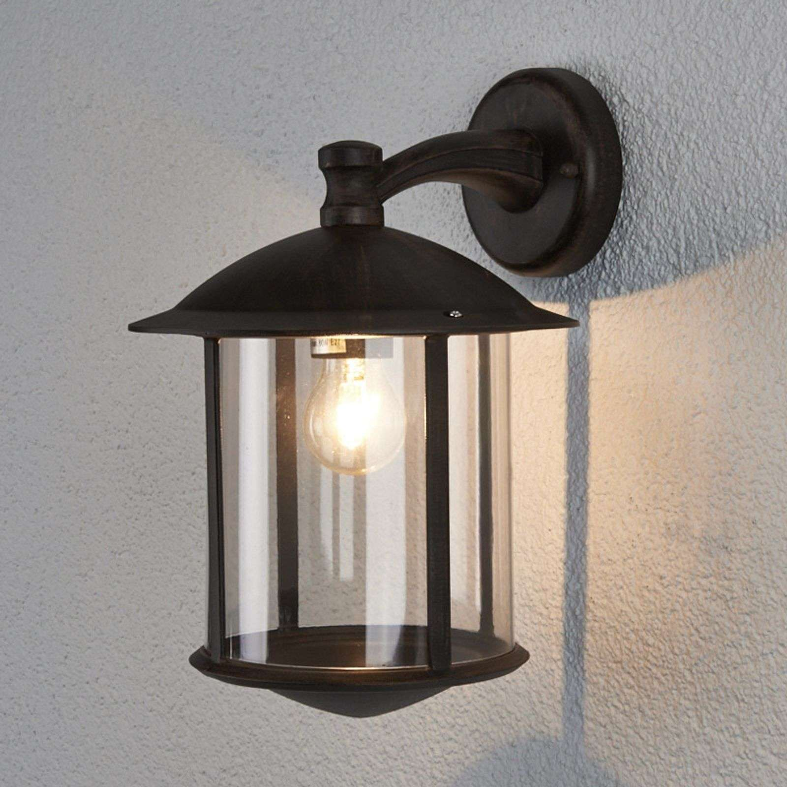 Maelis - outdoor wandlamp in roest optica
