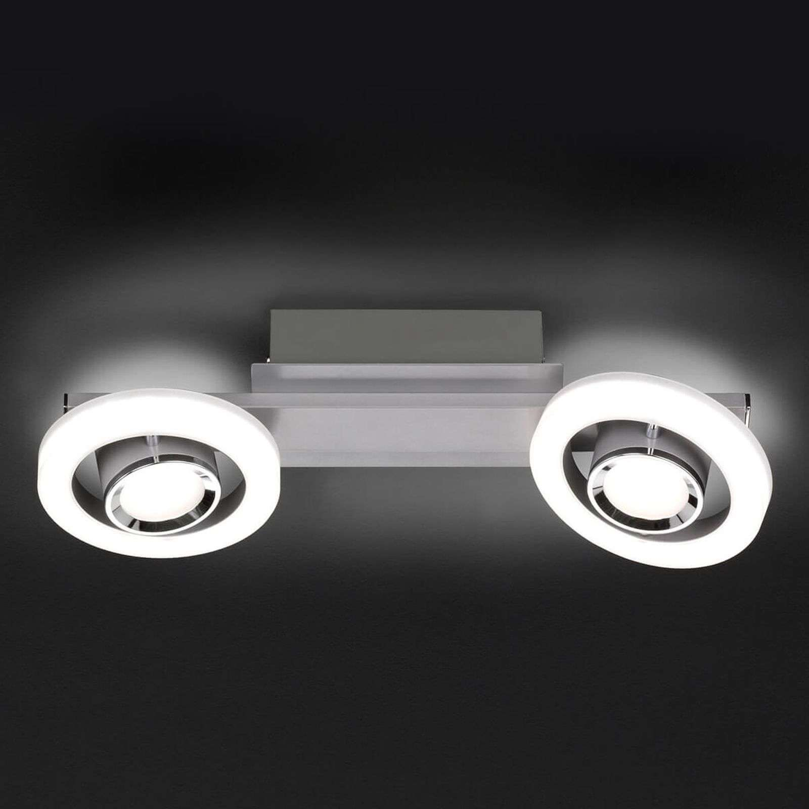 LED plafondlamp Detroit m. dimmer