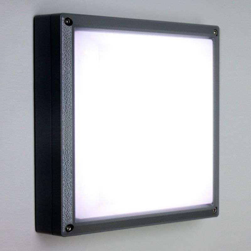 SUN 11 - LED-wandlamp 13W antraciet 4K
