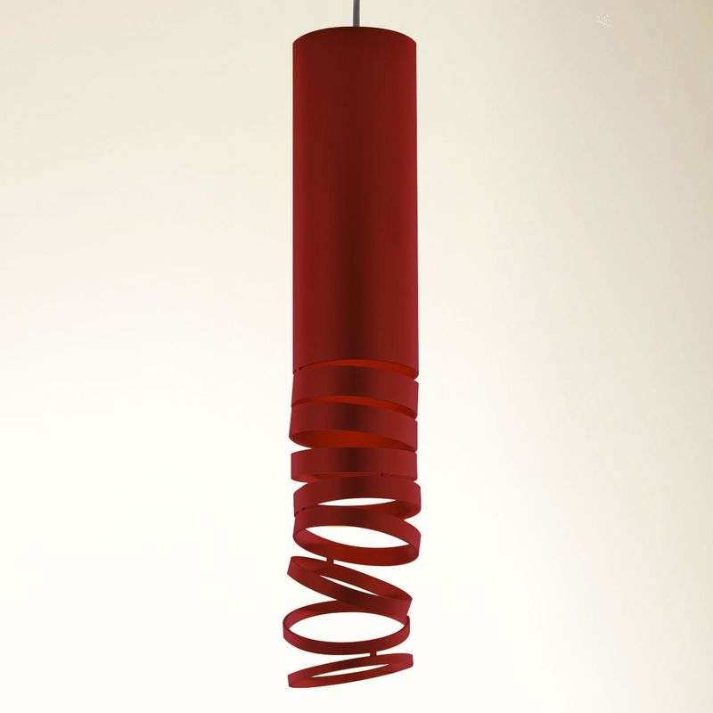 Artemide Decomposé hanglamp rood