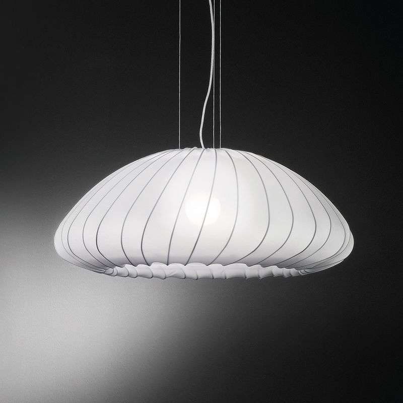 Witte hanglamp Muse