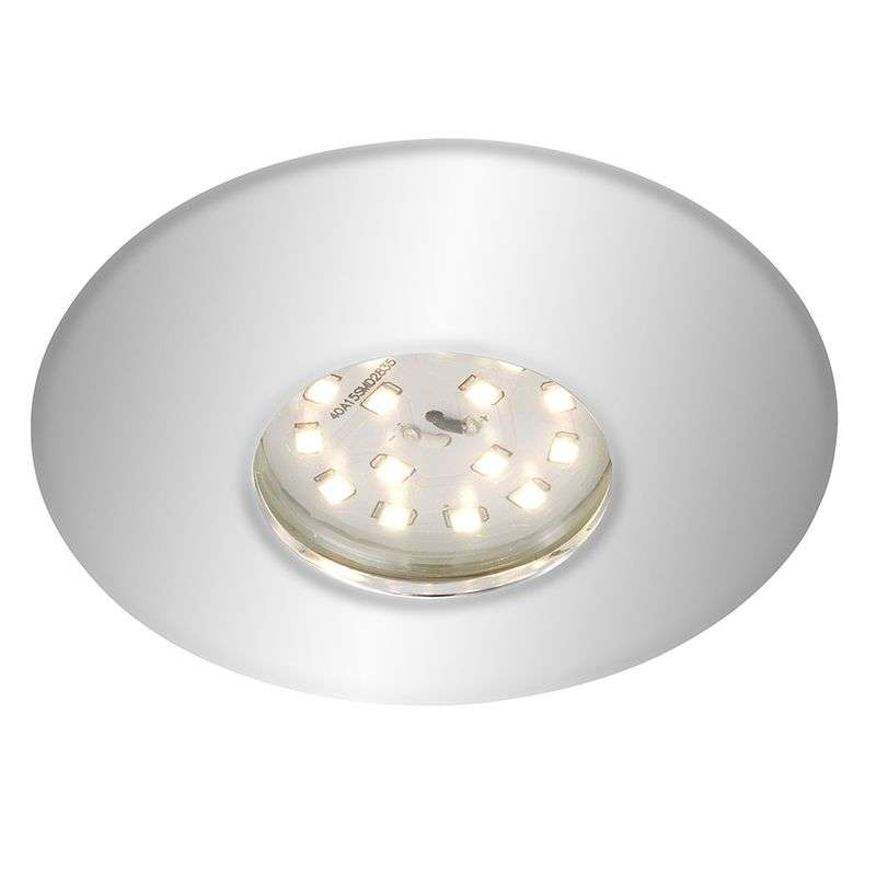 Verchroomde LED inbouwspot Shower, IP65