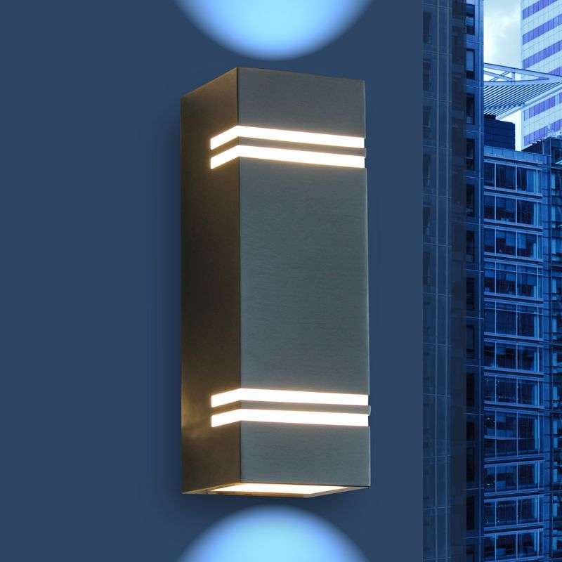 Moderne LED outdoor wandlamp Stripes