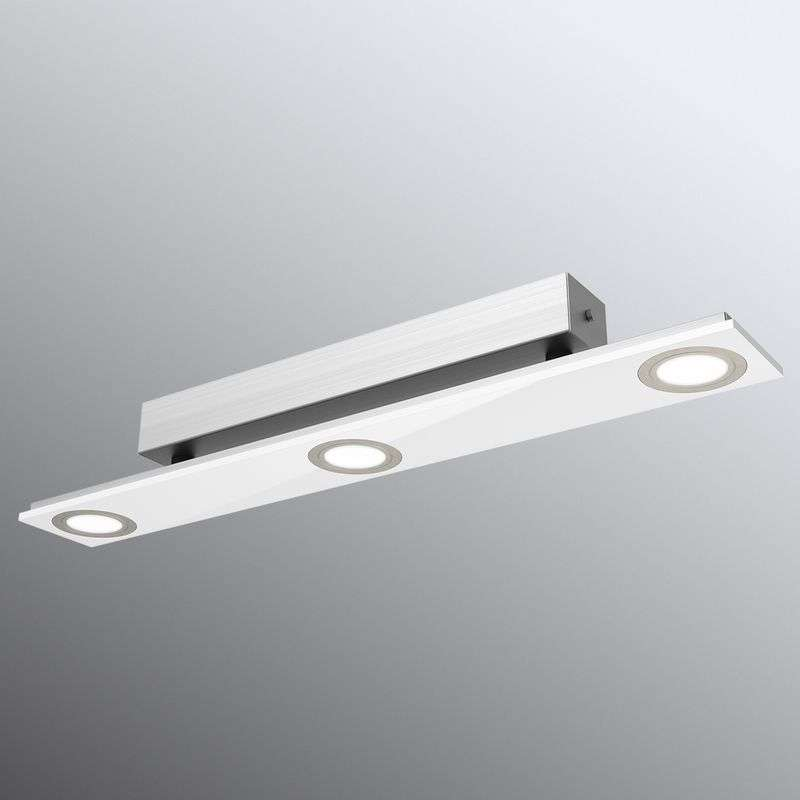 Pano - 3-lichts LED-plafondlamp in wit