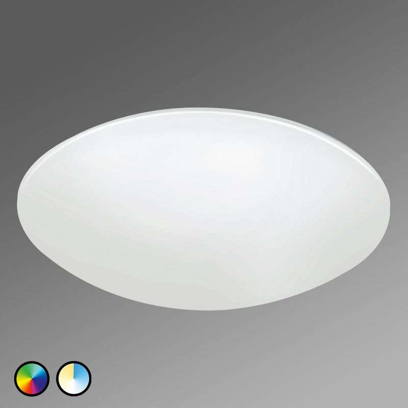 EGLO connect Giron-C LED plafondlamp wit