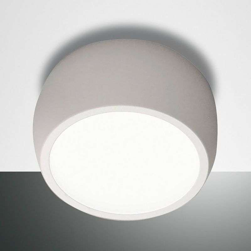 Ronde LED downlight Vasto, wit