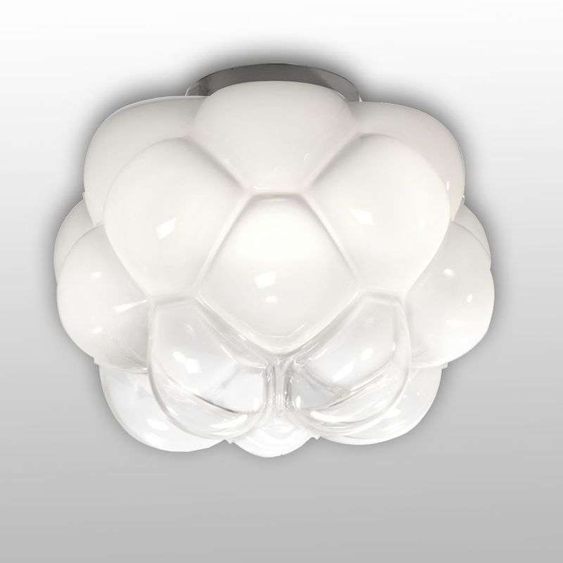 Wolkvormige LED hanglamp Cloudy, 26 cm