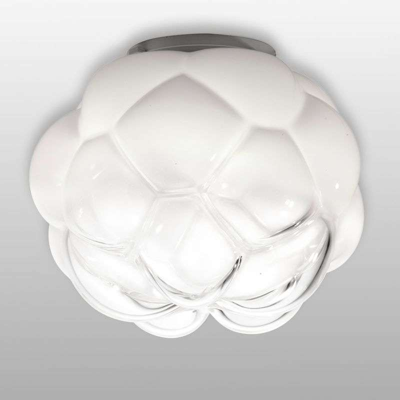 Wolkvormige LED hanglamp Cloudy, 40 cm