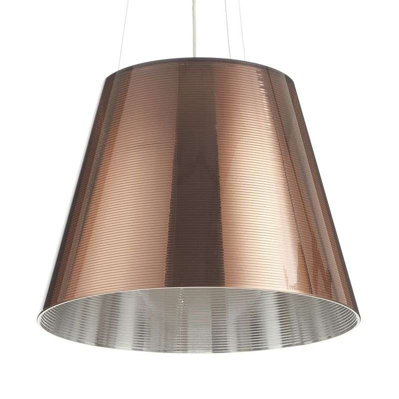Hedendaagse hanglamp KTRIBE S2, brons