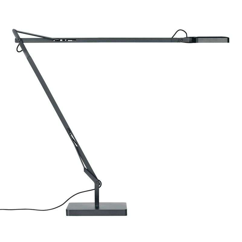 LED-bureaulamp Kelvin Edge, antraciet