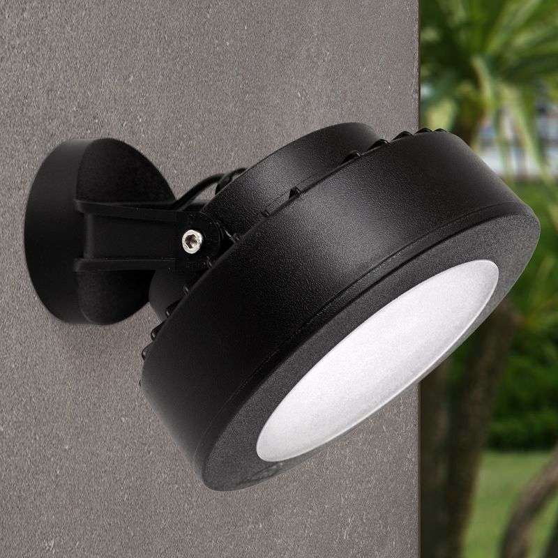 LED buitenspot Tommy 10W warmwit in zwart