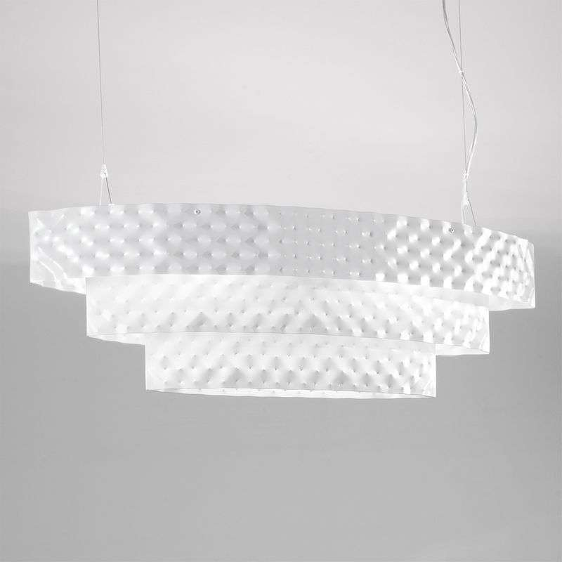 Ovale hanglamp CAPITONNE