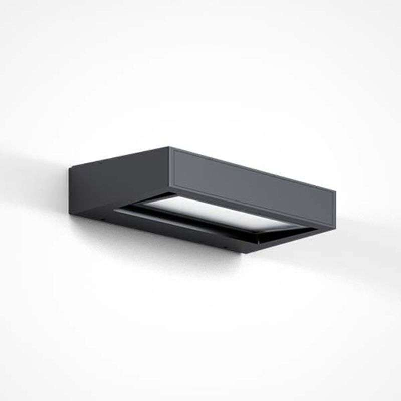 IP44.de Gap X - LED buitenwandlamp, antraciet