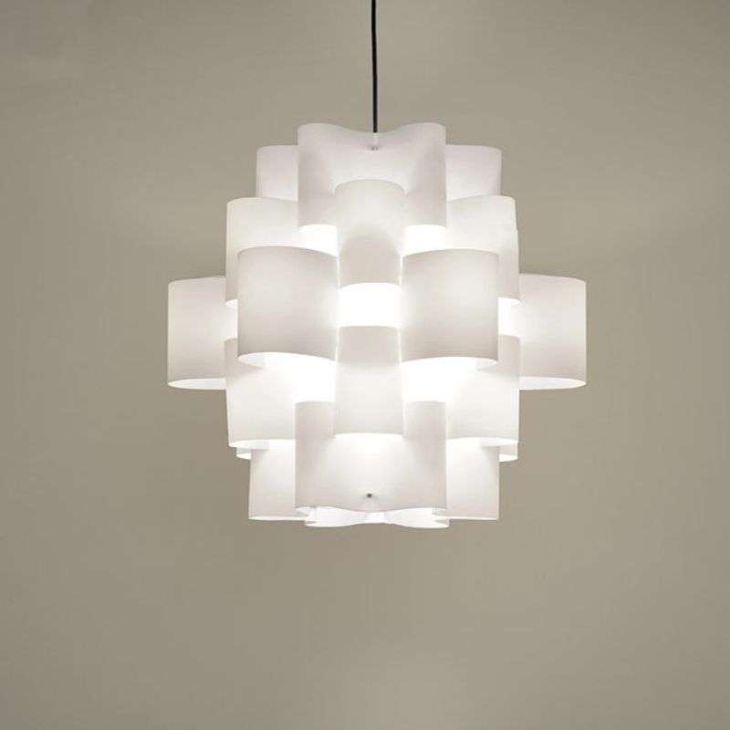 Design-hanglamp White Sun