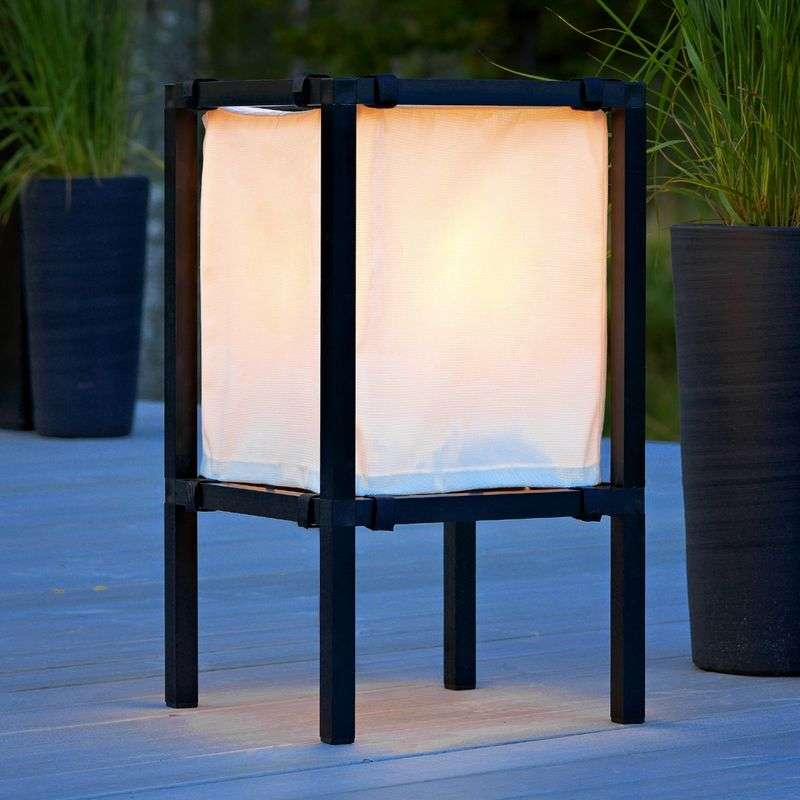 Modieuze vloerlamp New Palermo, hoogte 63 cm