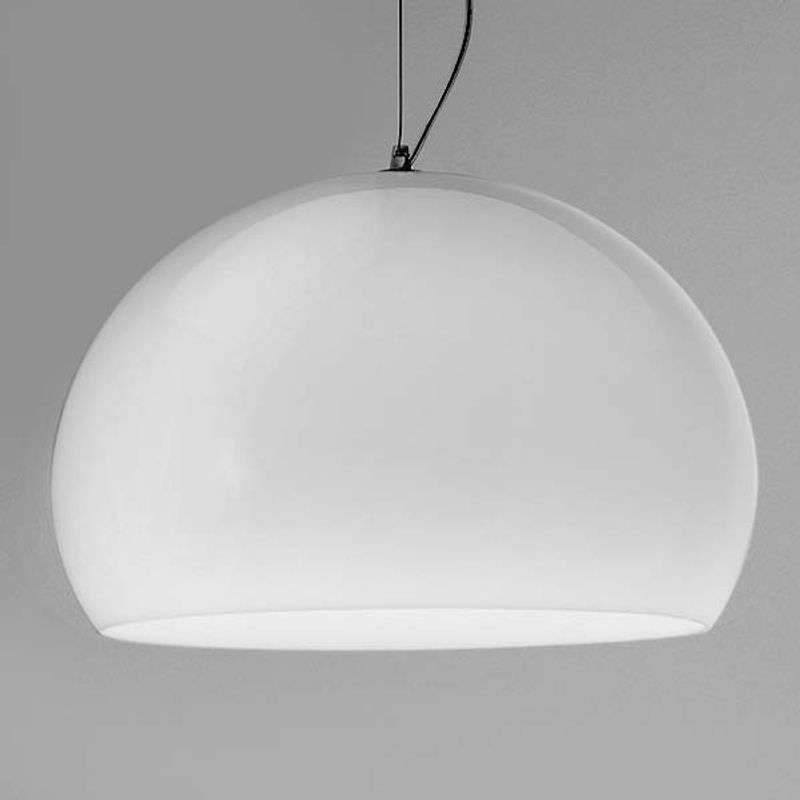Big FL/Y - Designer hanglamp met LED, wit