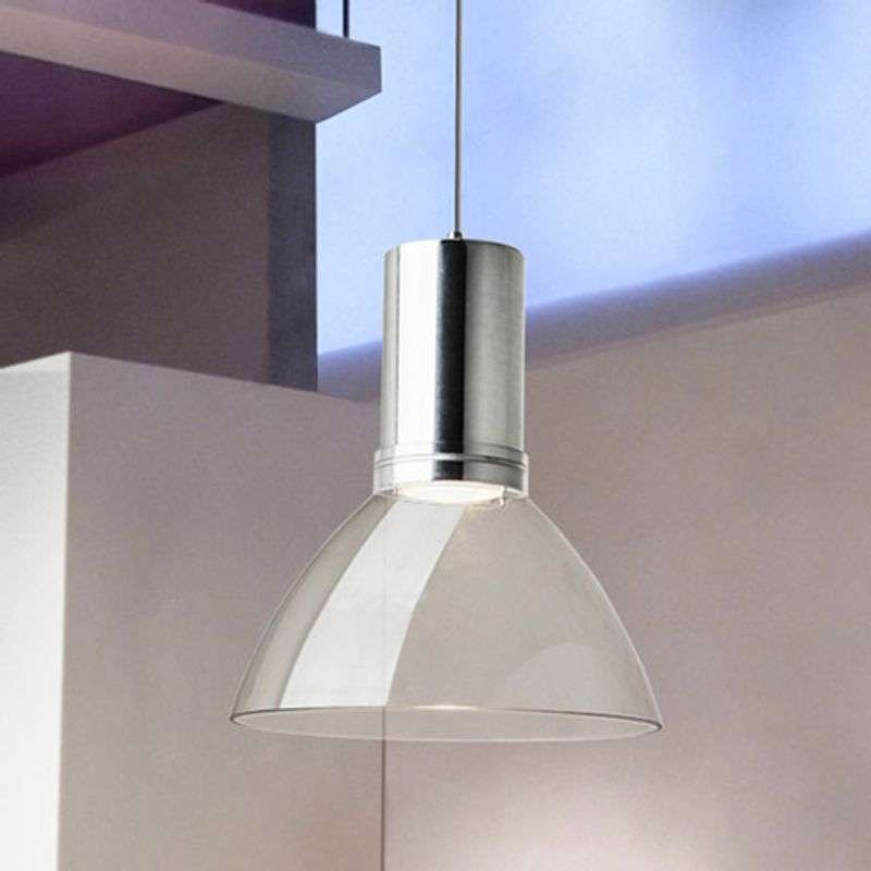 Transparante LED-hanglamp Bell