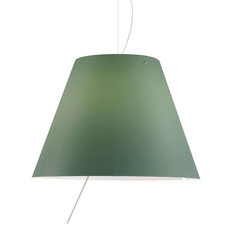 Chique LED hanglamp Constanza in groen