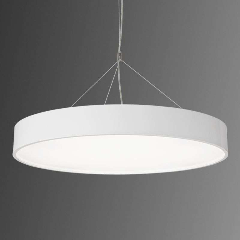 Enorme Led-hanglamp Modul P945 rond wit