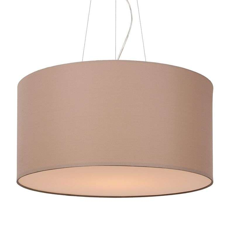 Universele hanglamp Coral, taupe, 60 cm