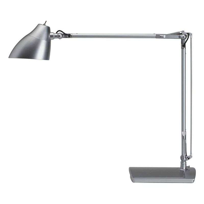 ECLIPSE LED-bureaulamp, zilver