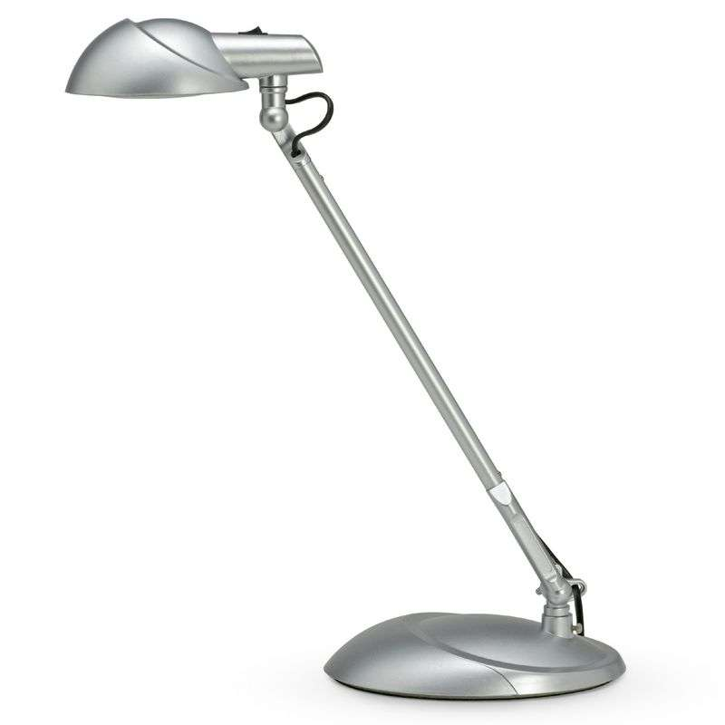 LED-bureaulamp STORM, zilver