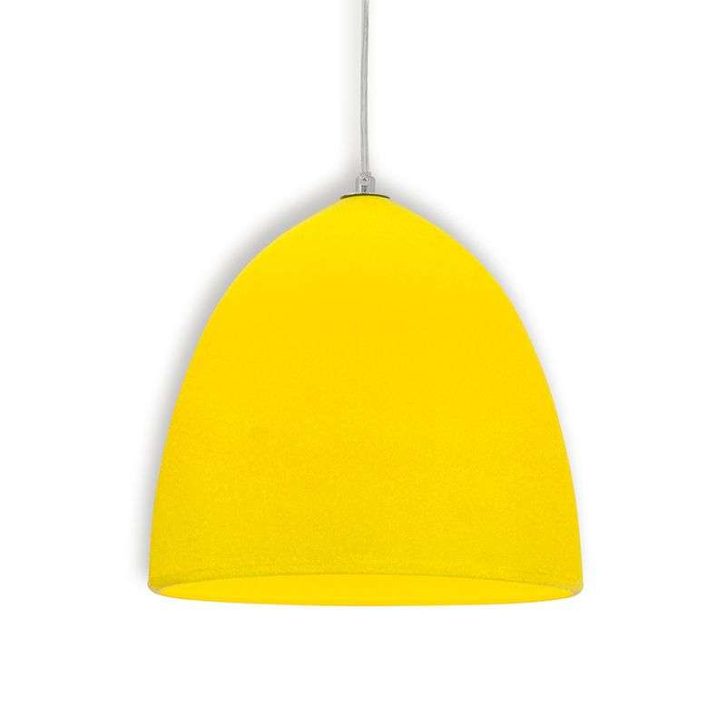 Gele silicone hanglamp Fancy