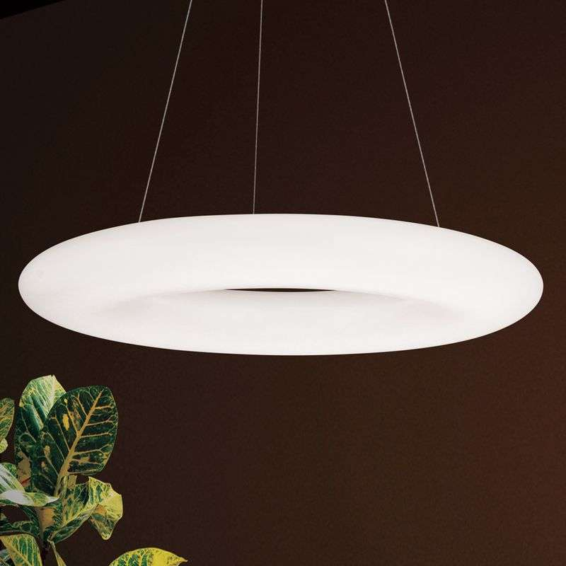 LED hanglamp Yana in ringvorm