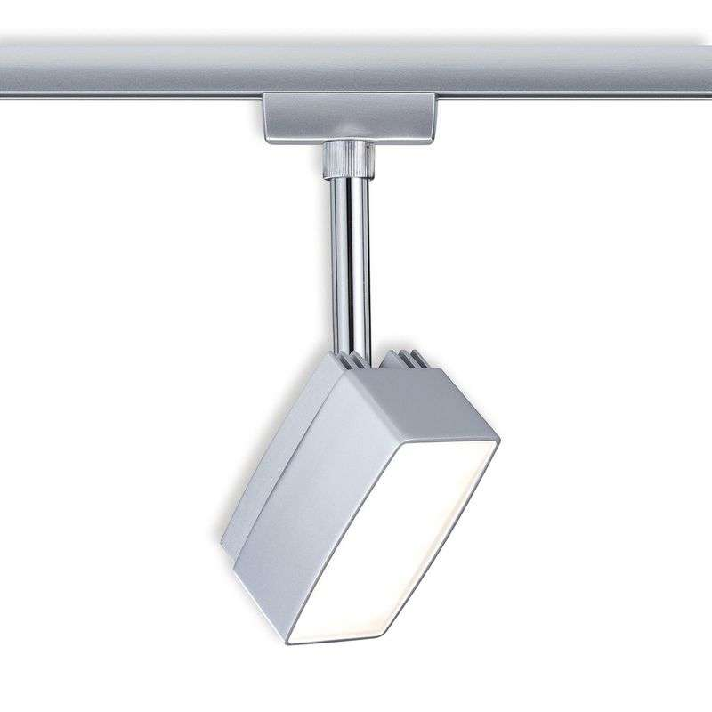 LED spot Pedal voor U-Rail railsystemen, chroom