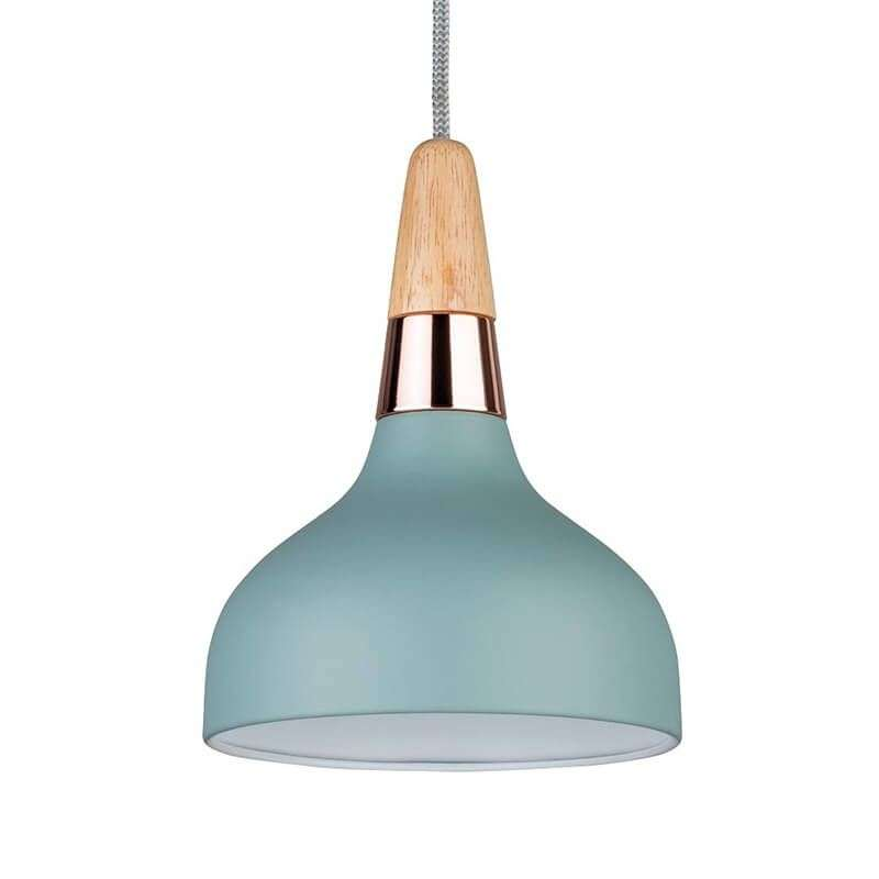 Trendy hanglamp Juna in turkoois