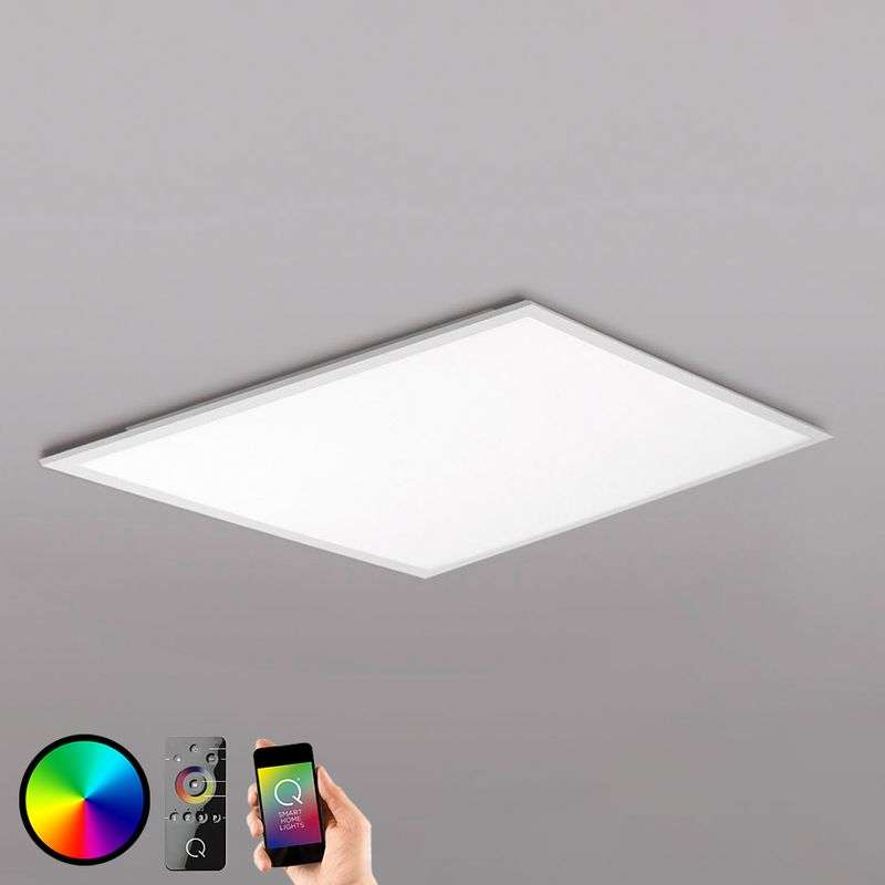 Smart Home compatibel LED plafondlamp Q-Flag