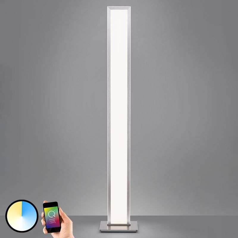 Paul Neuhaus Q-ROSA LED vloerlamp, Smart Home