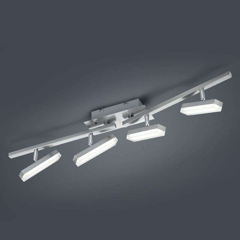 LED plafondlamp Bondy, 4-lamps