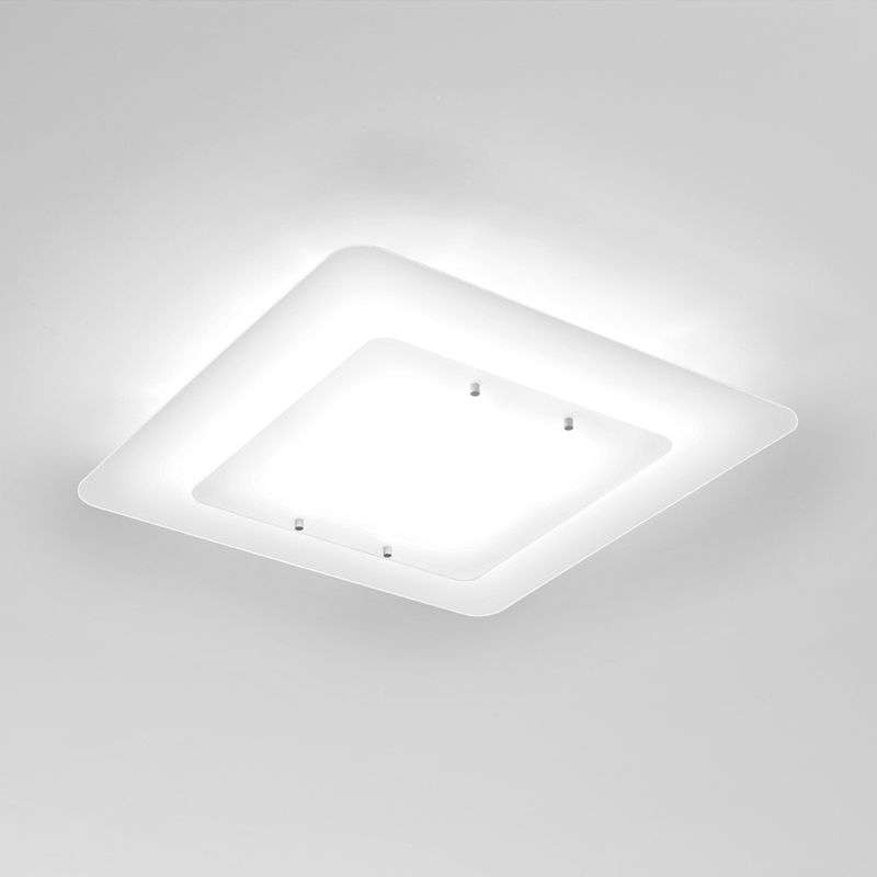 Witte plafondlamp Pop-up