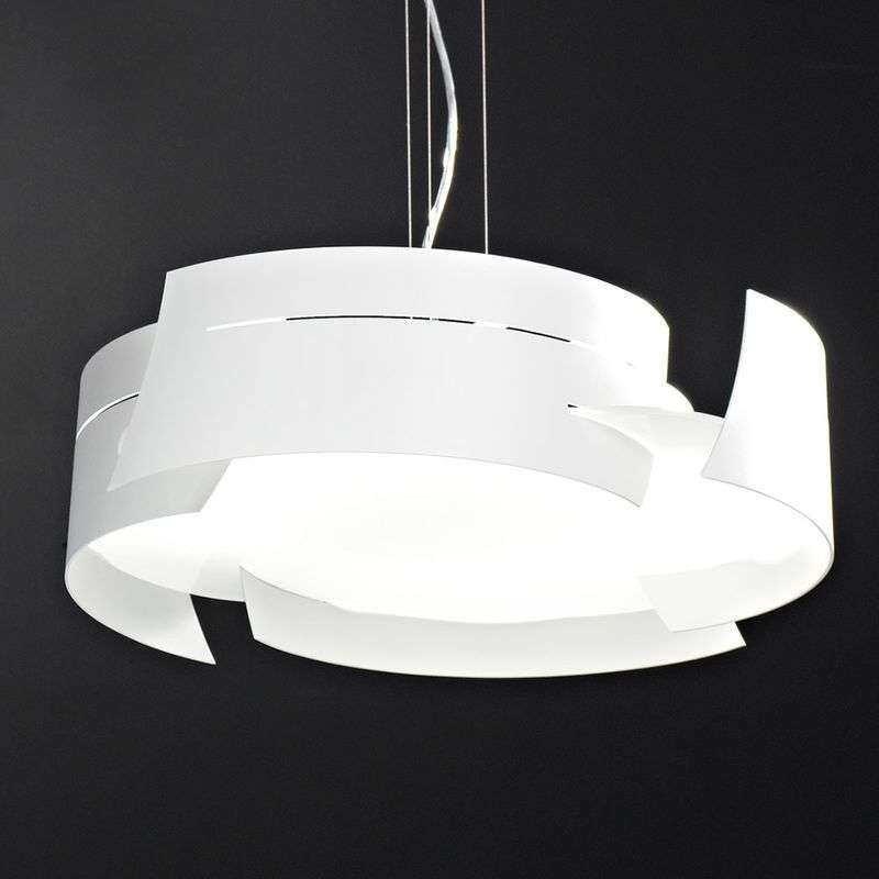 Vulture hanglamp, wit