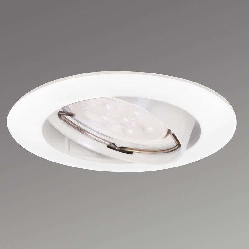 Zwenkbare LED inbouwspot Downlight DIM wit