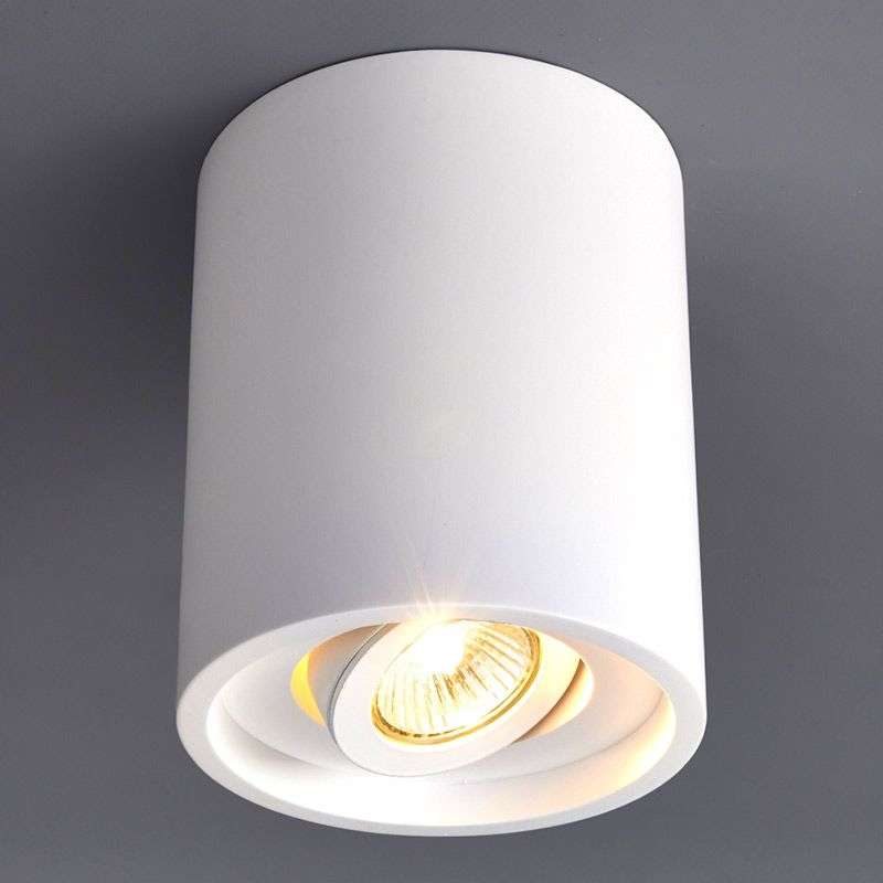 Ronde gipsen downlight Sarina met GU10-fitting
